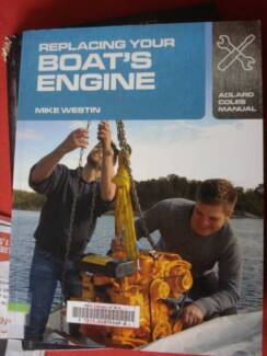 MARINE BOAT ENGINES HOW TO BOOKS c11 / 87