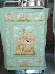 Small Children's Quilts, Hand Stitched London Ontario image 1