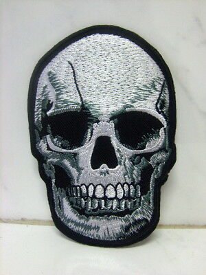 Aufnäher Aufbügler Patch Totenkopf 20 Gewebeaufnäher 7 x 10 cm