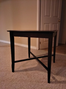 Two side tables (large and tall) and one coffee table solid wood