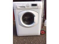 £120.00 hotpoint washing machine+8kg+1600 spin+super silent+3 months warranty for £120.00
