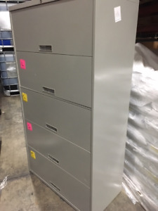 Steelcase Used Lateral Filing Cabinets in Great Condition!