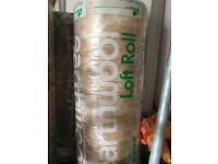 6 available Rolls of KNAUF EARTHWOOL Loft Insulation 100mm Combi-Cut - 13.89 sqm per Roll