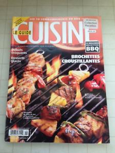 Revues et livres culinaires