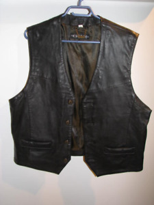 New - Genuine Leather Vest - size 44 - from the Olde Hide House