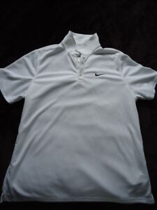 2 NEW WHITE NIKE TSHIRT XL-XXL  BREATHABLE MATERIAL
