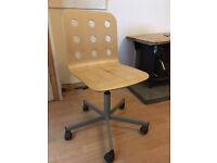 Ikea desk chair - wooden