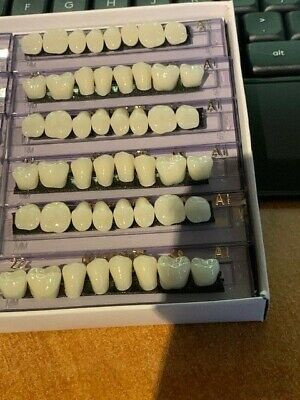 3 New Sets Posterior Dental Teethshade A1 Ships From Usa