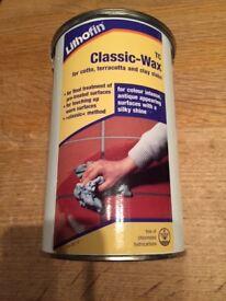 Lithofin WAX1 TC Classic Wax Antique 1Ltr , NEW