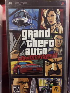 Grand Theft Auto Liberty City Stories (black label)