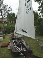 Hi performance 14 ft very light fast dinghy