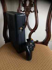 XBOX 360 Console with controller, 16 Skylander and Portals and