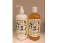 Crabtree & Evelyn Body Wash and Lotion -NEW