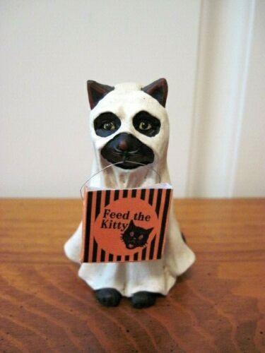 "Bethany Lowe NEW Halloween ""Ghost Cat"" Figure"