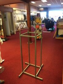 Clothing Display Stands - Metal x 9