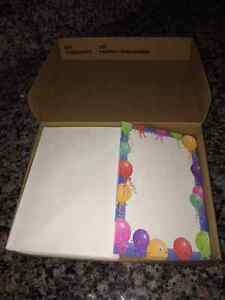 BRAND NEW Cardstock Invitations with Envelopes