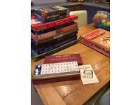 Job Lot Vintage Board Games