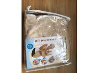 Cuddledry Baby Bath Towel - Oatmeal/White (BNIP)