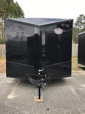 2017 8 5x20 Ft Enclosed Cargo Trailer Blackout Spread