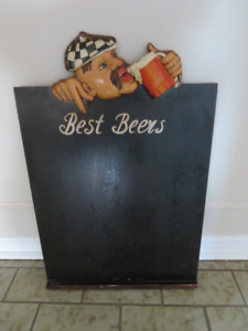 Chalk Board with Character
