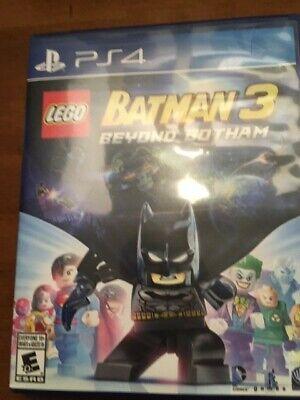 LEGO Batman 3 Ps4 Game Slightly Used