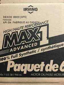 Huile 100% synthétique pour Honda, Toyota, Ford, GM 0W20 et 5W20