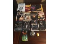 JOB LOT OF 15 QUALITY ITEMS FOR CAR BOOT / RE-SALE DVDs BOOKS ETC. RRP £100+
