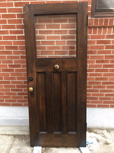 Classic antique door - with bell!
