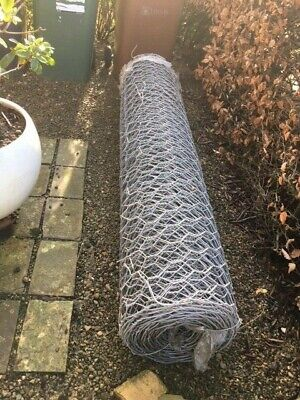 MALLA HEX Heavy Duty Garden / Site Galvanised Steel Chain Fencing 25m x 2m Roll
