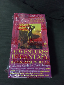 Adventures in Fantasy 1993 Comic Trading card box sealed 48 pack