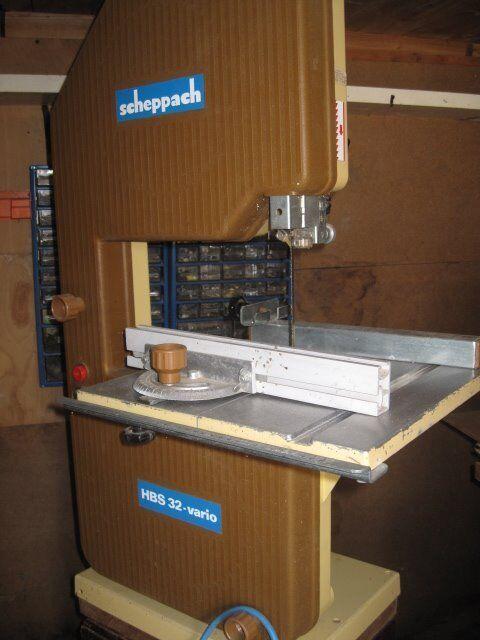 Scheppach Prima Hbs 32 Vario Benchtop Bandsaw 12 Spare