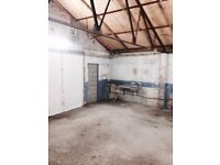 Warehouse space Cardiff 20x20ft Canton/Fairwater £400pcm all inclusive