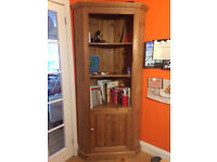 Corner bookcase and shelving unit use as is or upcycling