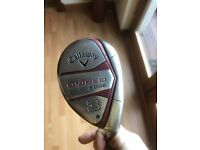 Callaway Diablo Edge Rescue/Hybrid 21degree (3 iron equivalent)