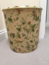 Storage Box/Linen Basket/Bin/Stool. Collect from Fulham or Chichester