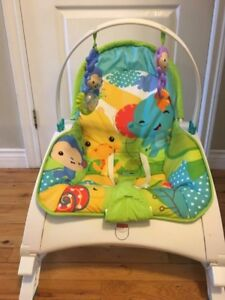 Must go fisher price  rocking  chair (0-3 years old)