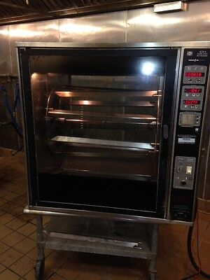 Henny Penny Counter Top Rotisserie Scr-8 Electric