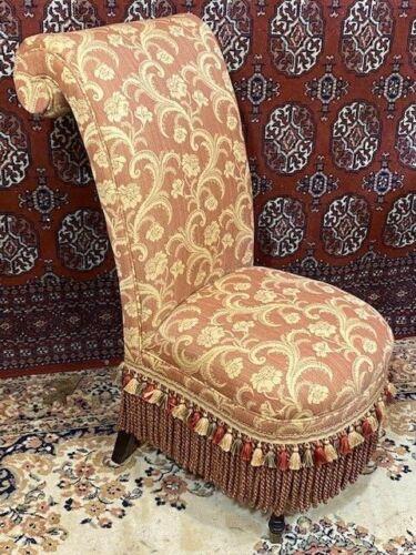 Antique Slipper Side Guitar Chair