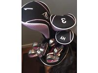 Ladies golf clubs nearly new