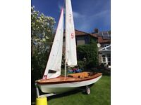 Miracle Sailing Dinghy Good condition and excellent for beginners and experienced sailors