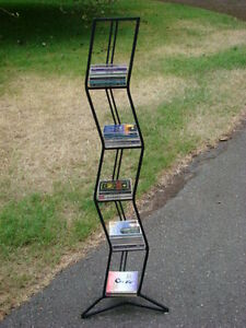 Wrought Iron CD/DVD Rack