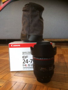 Canon 24-70mm F4 L lens USM IS