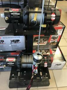 WINCHES for ATVs & UTVs -- WARN & FALCON