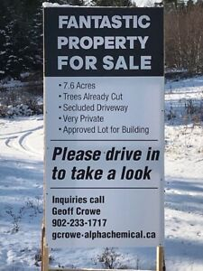 Beautiful 7.6 Acres Residential Lot in Porters Lake