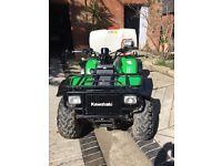 Farm Quad bike and sprayer for sale
