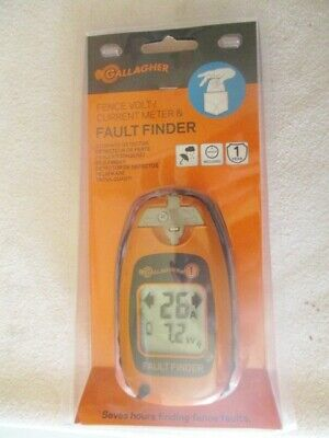 Gallagher Fault Finder - Fence Volt Current Meter Smartfix New