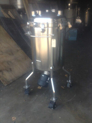 A B Process Systems 200 Liter Tank Stainless Steel