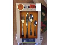 Anchor 16-piece cutlery set