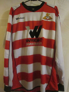 2008-2009-Doncaster-Rovers-Home-Football-Shirt-Size-Medium-LS-20130