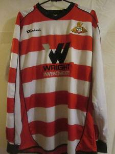 2008-2009-Doncaster-Rovers-Home-Football-Shirt-Size-Medium-LS-20130